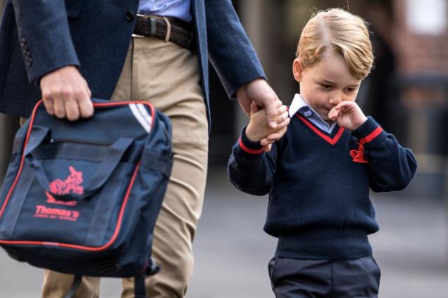 Принц Георг пошел в школу: сколько стоит его обучение?