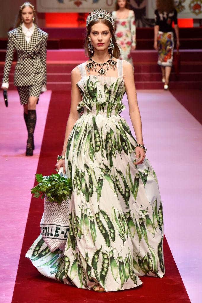 Dolce & Gabbana представили коллекцию в Милане-Фото 3