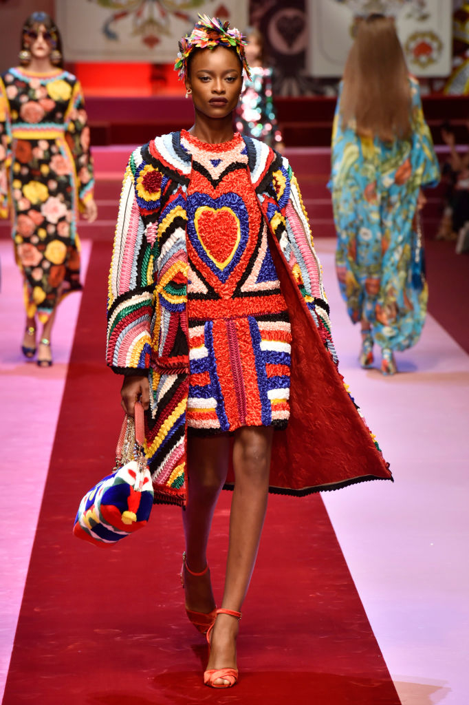 Dolce & Gabbana представили коллекцию в Милане-Фото 4