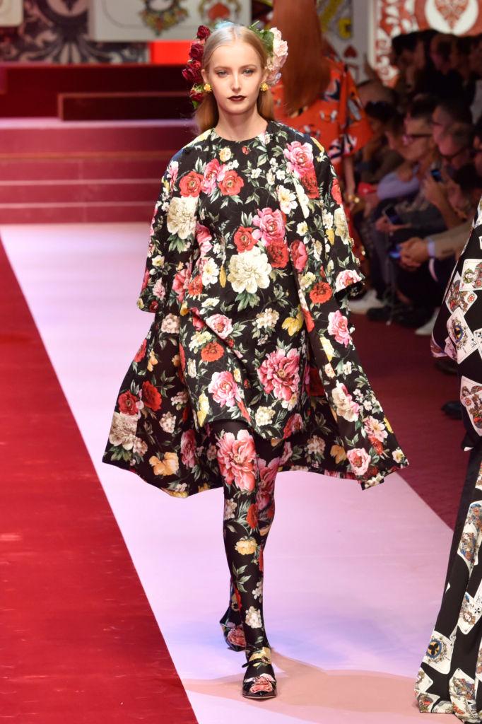Dolce & Gabbana представили коллекцию в Милане-Фото 5