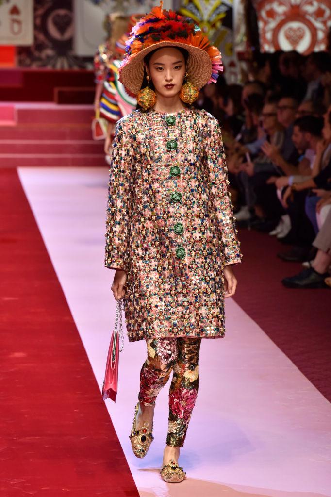 Dolce & Gabbana представили коллекцию в Милане-Фото 6
