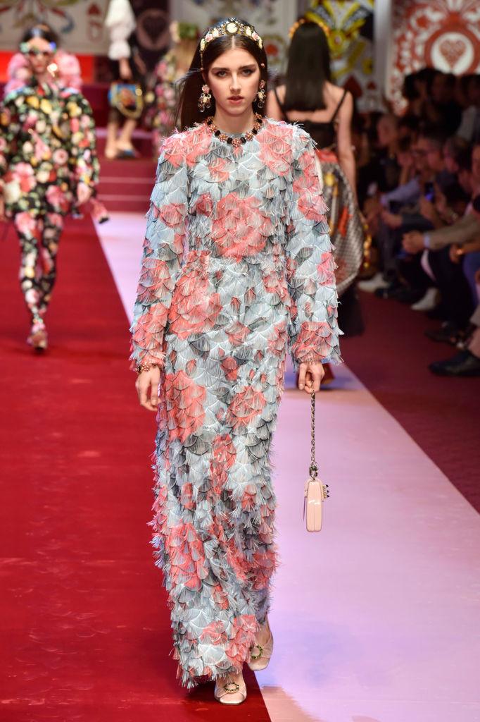 Dolce & Gabbana представили коллекцию в Милане-Фото 7