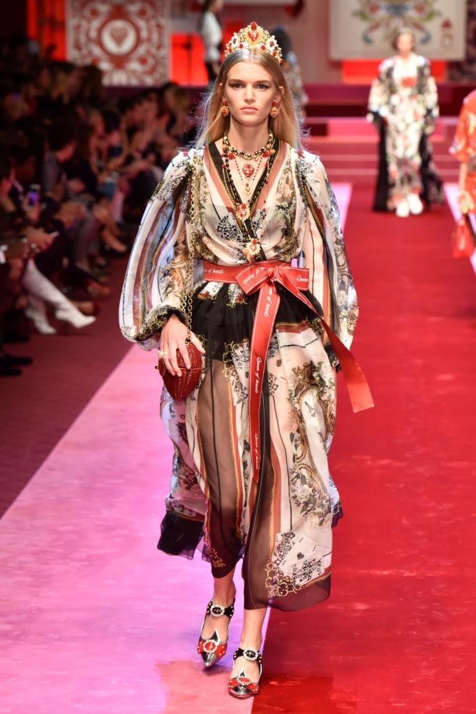 Dolce & Gabbana представили коллекцию в Милане-Фото 8