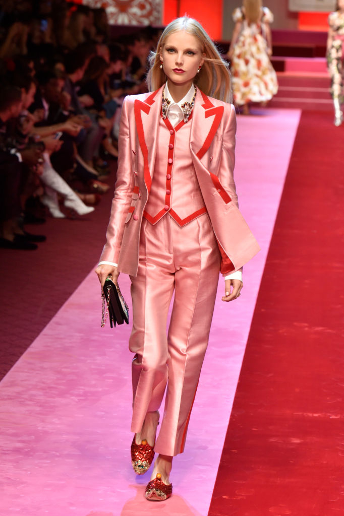 Dolce & Gabbana представили коллекцию в Милане-Фото 10