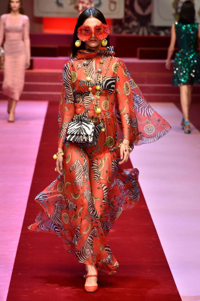 Dolce & Gabbana представили коллекцию в Милане-Фото 11