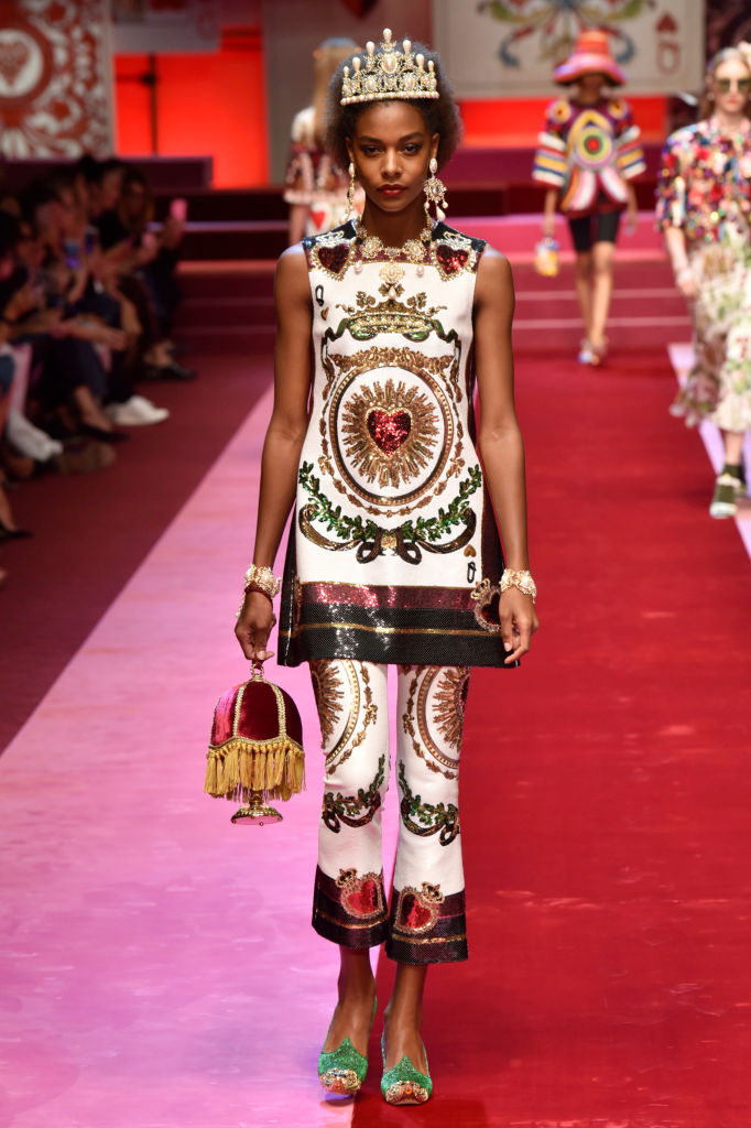 Dolce & Gabbana представили коллекцию в Милане-Фото 12