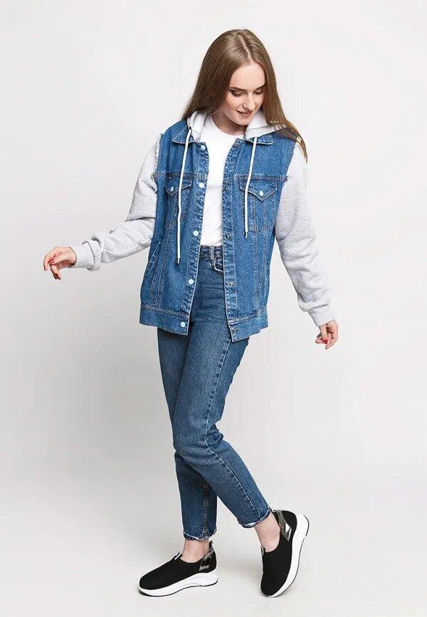 C чем осенью носить джинсовую куртку-Фото 6
