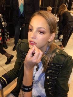 Как создается макияж на Миланской неделе моды. День 1-2