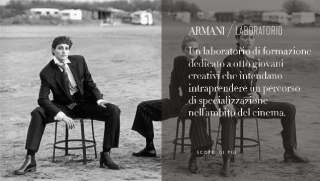 Все в кино: Джорджио Армани откроет бесплатные курсы по режиссуре