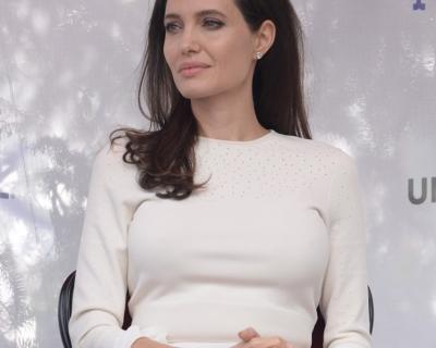 Анджелина Джоли надела платье от российского дизайнера-430x480