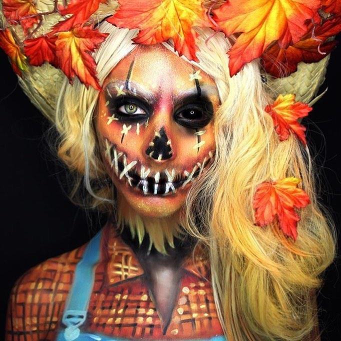 Невероятные идеи для макияжа на Хэллоуин-Фото 6