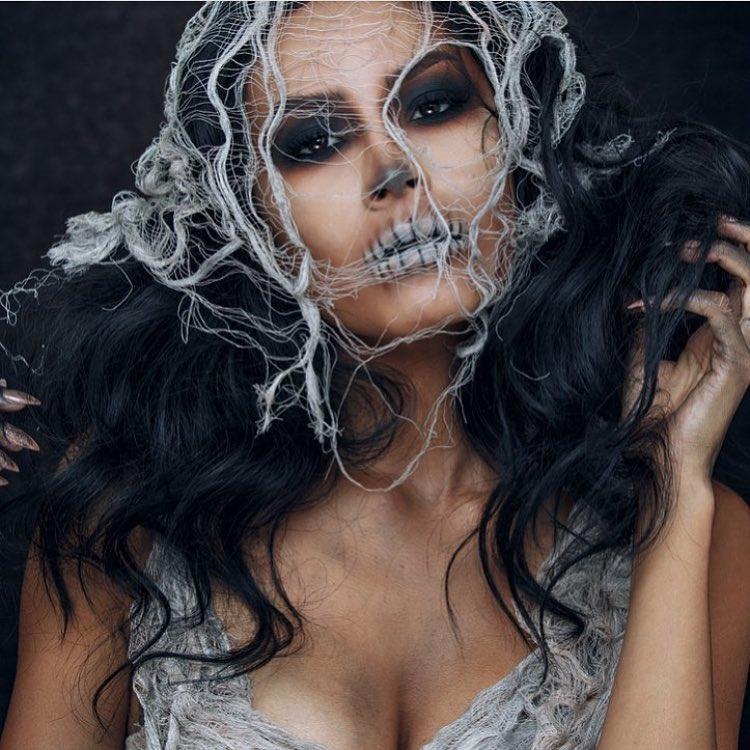 Невероятные идеи для макияжа на Хэллоуин-Фото 11