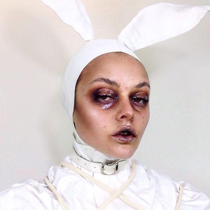 Невероятные идеи для макияжа на Хэллоуин-Фото 8