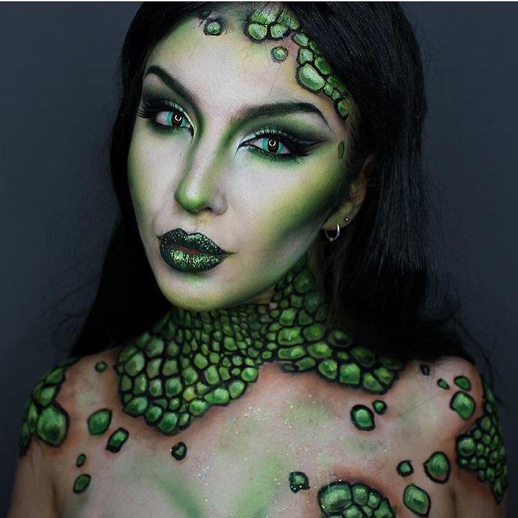 Невероятные идеи для макияжа на Хэллоуин-Фото 12