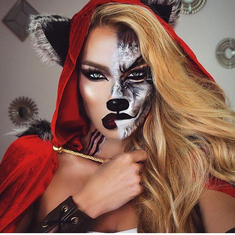 Невероятные идеи для макияжа на Хэллоуин-Фото 7