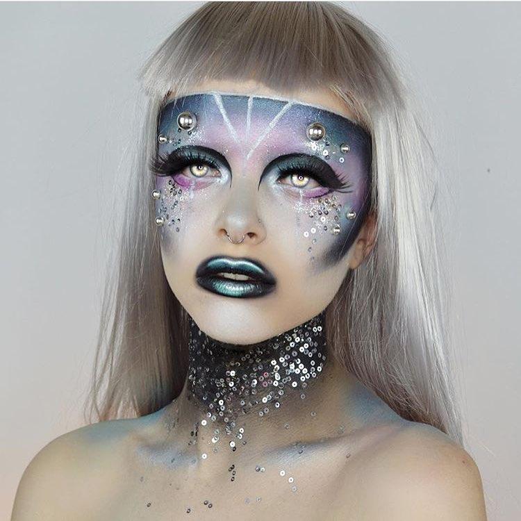 Невероятные идеи для макияжа на Хэллоуин-Фото 10