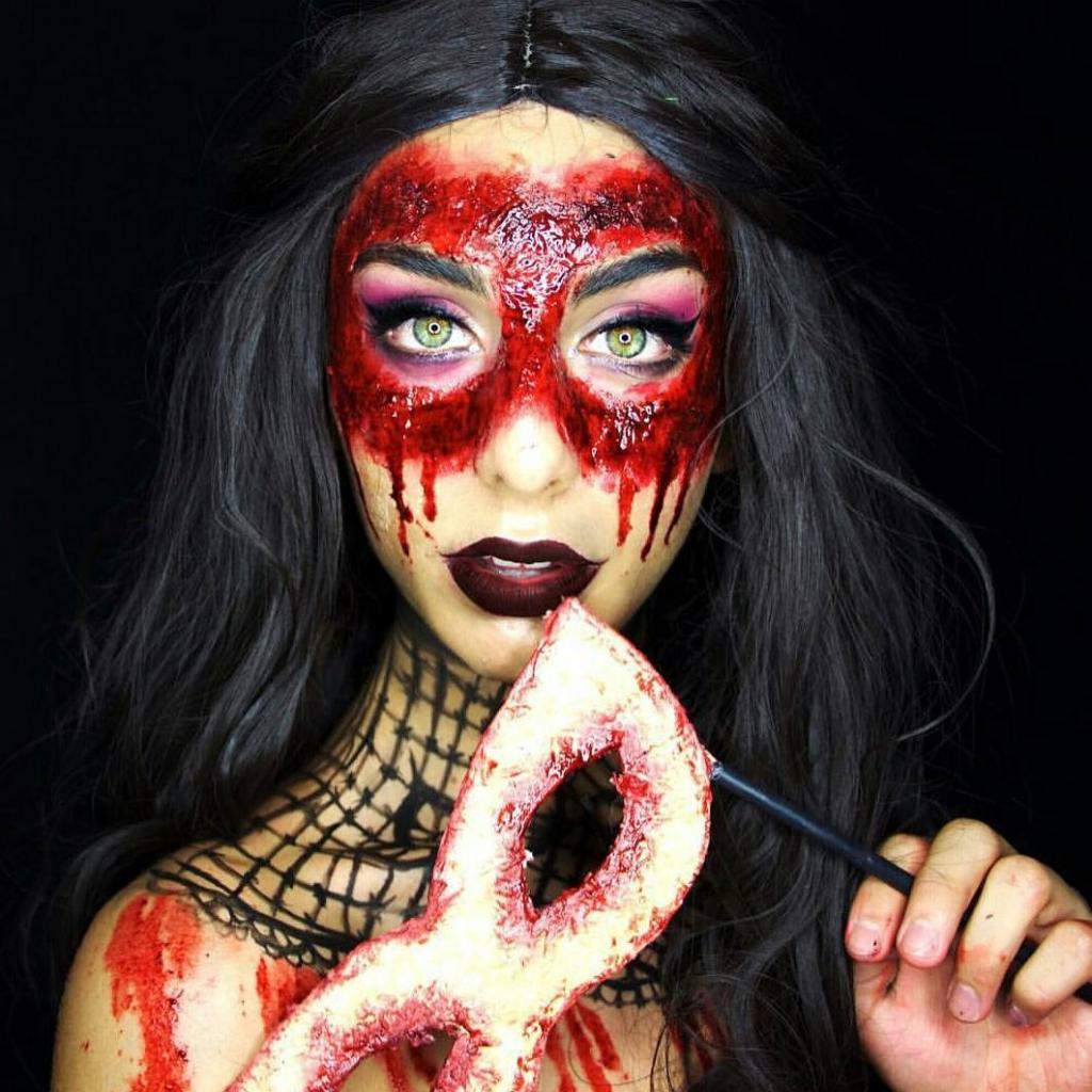 Невероятные идеи для макияжа на Хэллоуин-Фото 3