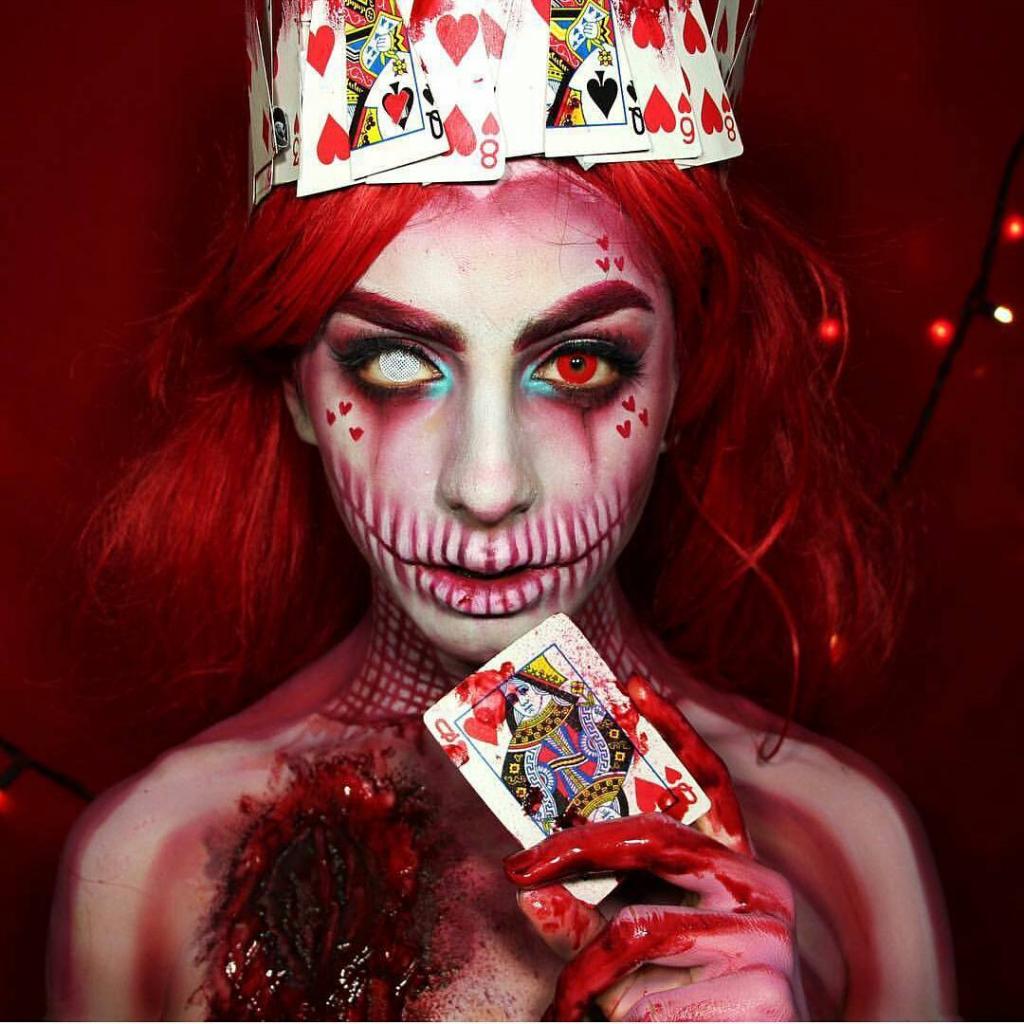 Невероятные идеи для макияжа на Хэллоуин-Фото 4