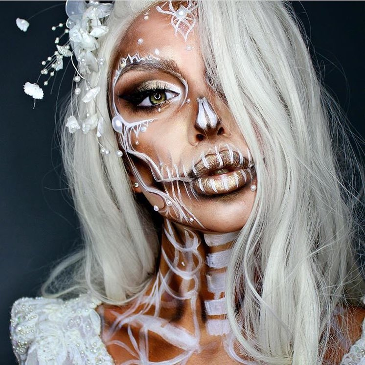 Невероятные идеи для макияжа на Хэллоуин-320x180