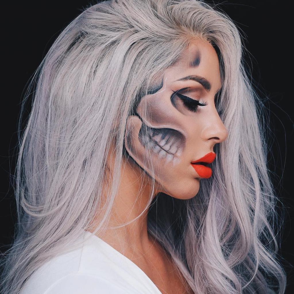 Невероятные идеи для макияжа на Хэллоуин-Фото 5