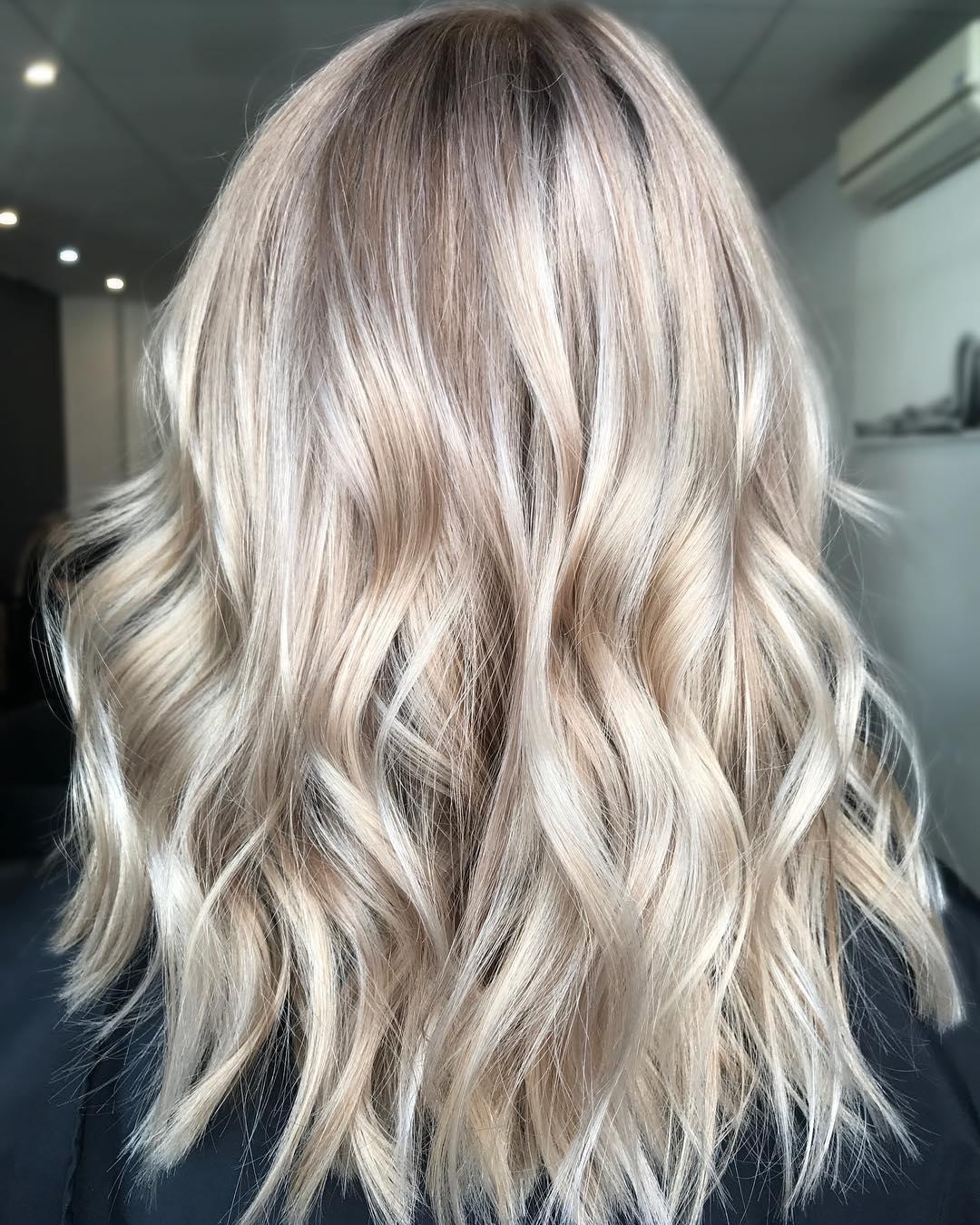 Модные цвета волос на осень 2017-Фото 2
