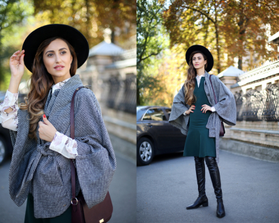 Блондинки или брюнетки: 3 стильных образа от украинских блогеров-430x480