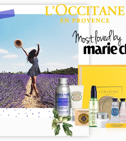 Знакомство с бьюти-боксами Most Loved by Marie Claire x L'Occitane-430x480