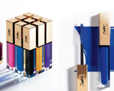 Бренд Yves Saint Laurent представил серию из цветных тушей-430x480