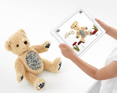 Apple выпустили плюшевого медведя, который умеет выражать свои эмоции-430x480