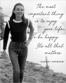 Лучшие цитаты Одри Хепберн, которые нам никогда не надоедят