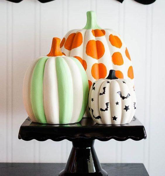 Несколько необычных способов украшения тыквы на Хэллоуин-Фото 1