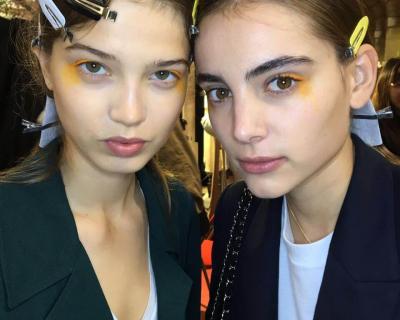 Как создается макияж за кулисами Недели моды в Париже. День 1-3-430x480