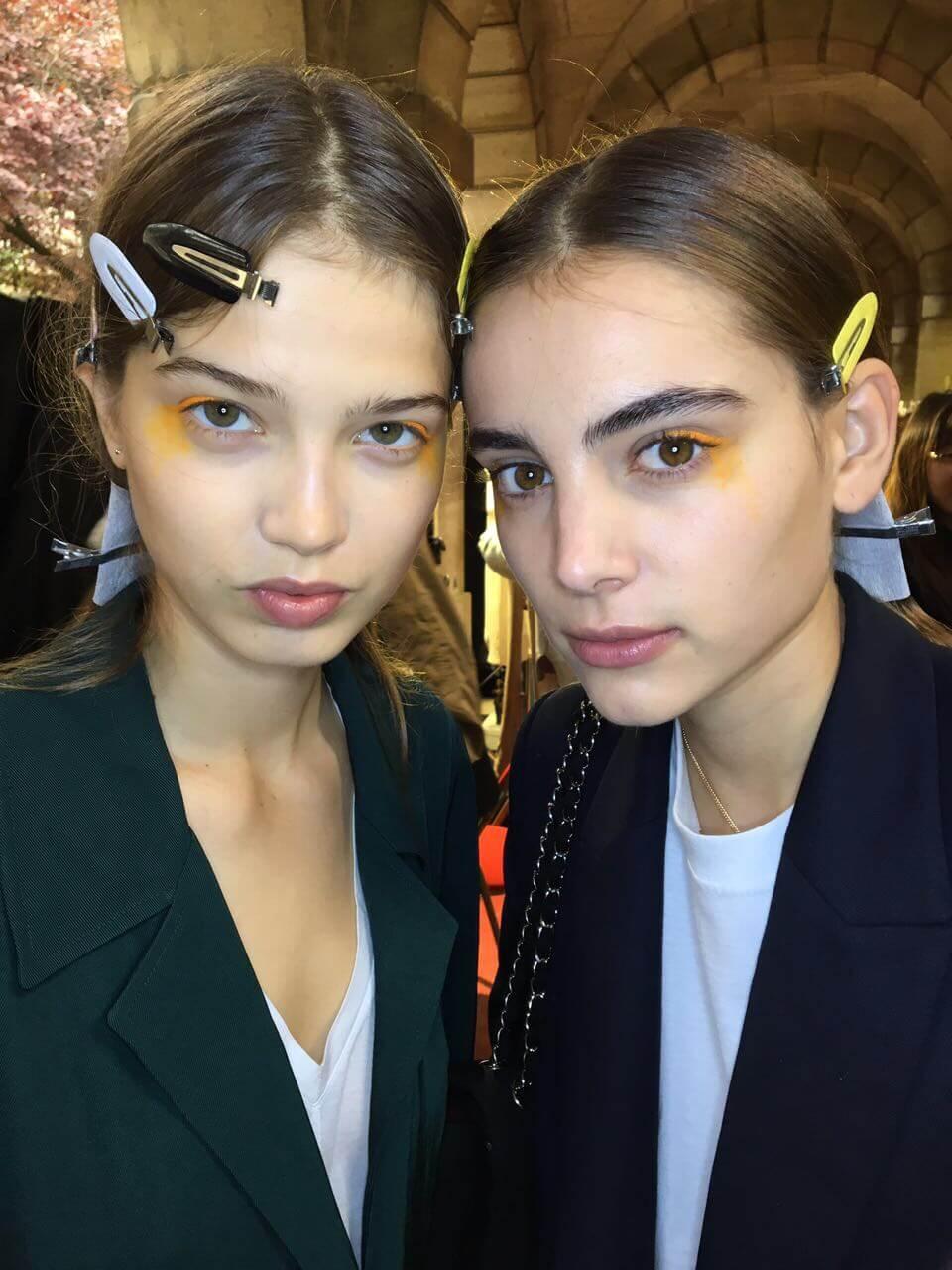 Как создается макияж за кулисами Недели моды в Париже. День 1-3-320x180