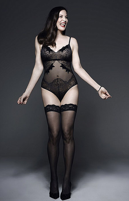 Лив Тайлер снялась в рекламе нижнего белья-Фото 2