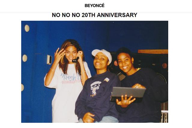 Бейонсе опубликовала архивные фото Destiny's Child-320x180