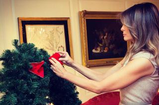 Мелания Трамп нарядила елку в Белом доме