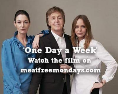 Пол Маккартни призывает отказаться от мяса в новом социальном ролике-430x480
