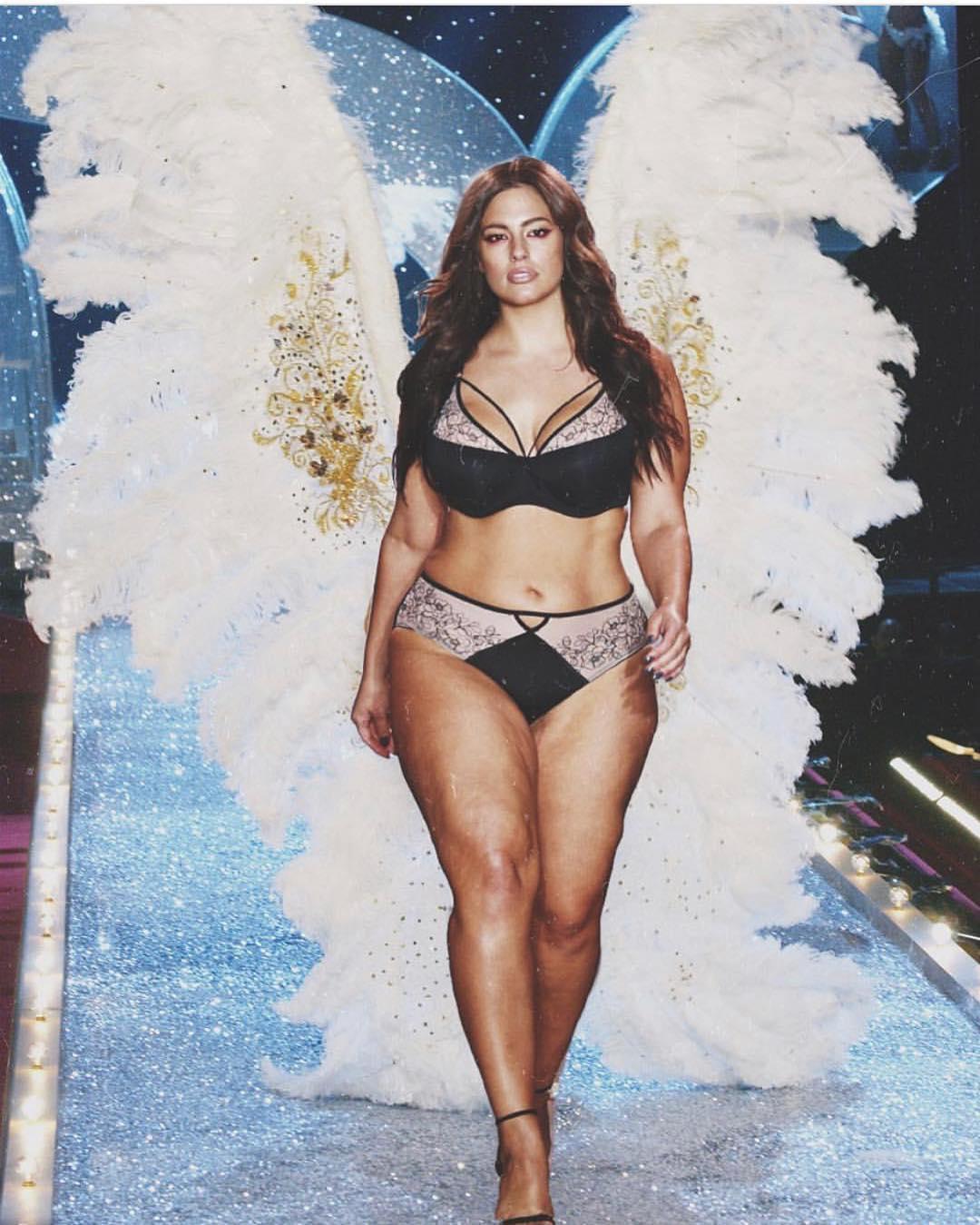 Эшли Грэм хочет стать «ангелом» Victoria's Secret-Фото 1