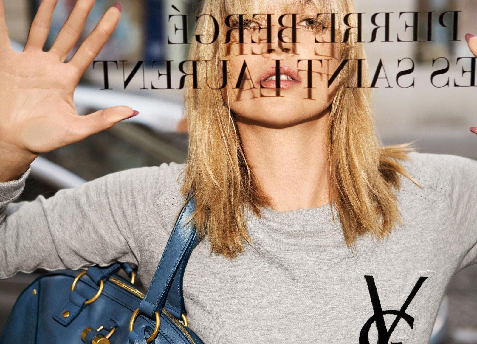Кейт Мосс в обнаженном виде снялась для нового кампейна Saint Laurent-320x180