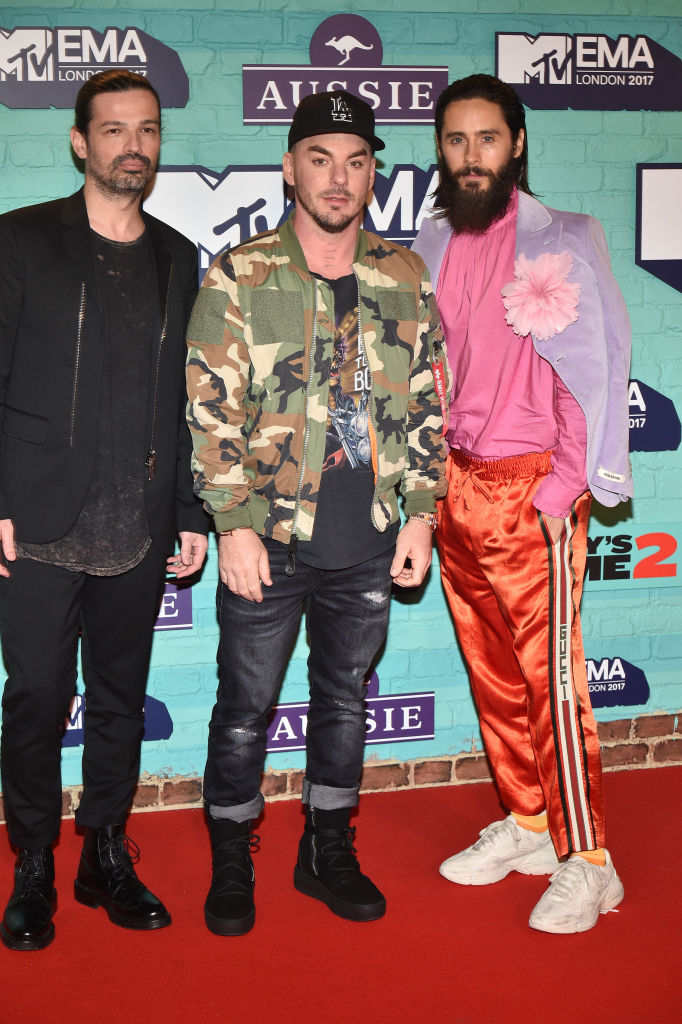 MTV EMA 2017: Рита Ора в халате и Джаред Лето в спортивных штанах-Фото 2
