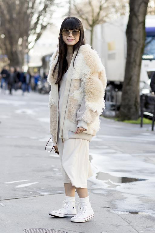 Теплая история: Как правильно носить экошубу-Фото 9