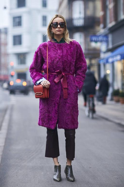 Теплая история: Как правильно носить экошубу-Фото 6