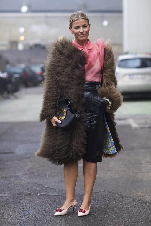 Теплая история: Как правильно носить экошубу-Фото 8