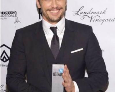 Джеймс Франко получил премию «Готэм»-430x480