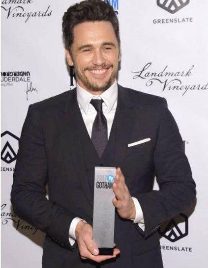 Джеймс Франко получил премию «Готэм»-Фото 1