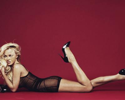 Памела Андерсон снялась в рекламе нижнего белья-430x480
