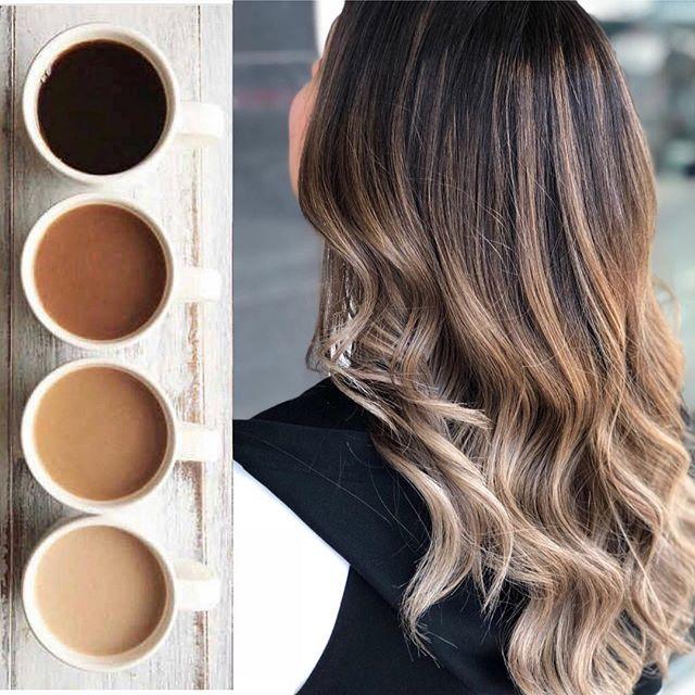 Окрашивание волос «имбирно-пряничный латте»-320x180