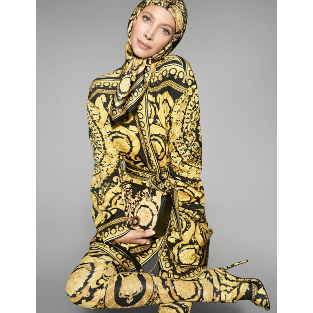 В честь Джанни Версаче: новый рекламный кампейн Versace-Фото 3