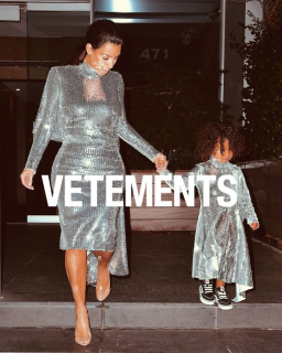 Ким Кардашьян обвинили в плагиате детской одежды