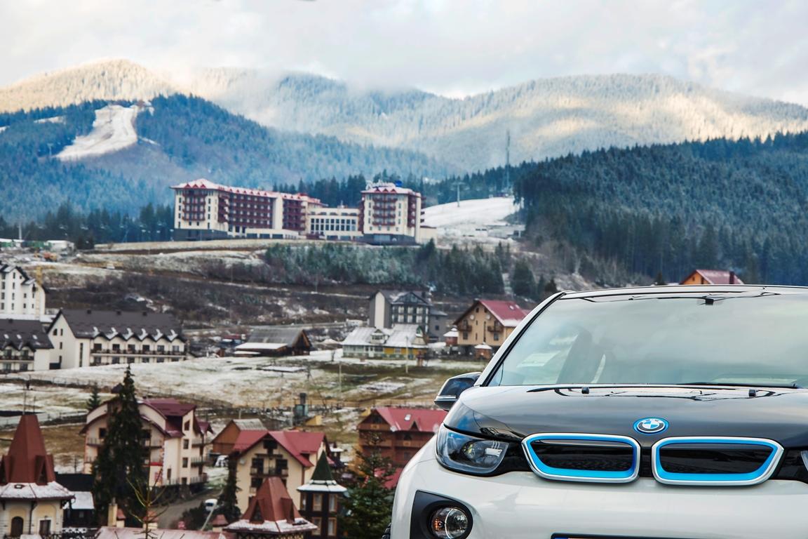 За рулем: тест-драйв электрокара BMW i3-Фото 6